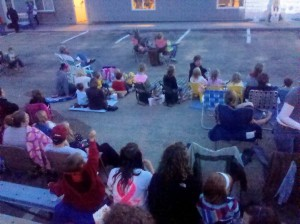 Outdoor Movie Night at Old Settlers Days